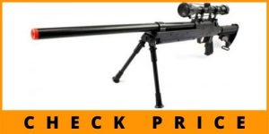 Spring Bolt Action Well m187d fps-550 Metal Airsoft Sniper Rifle Gun